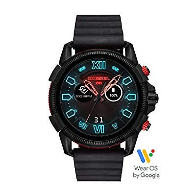 Diesel On Men's Smartwatch Powered with Wear OS by Google with Heart Rate, GPS, NFC, and Smartphone Notifications by Diesel