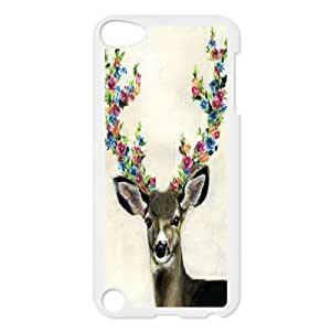 T-TGL(RQ) Personalized Giraffe Pattern Protective Hard Case for Ipod Touch 5