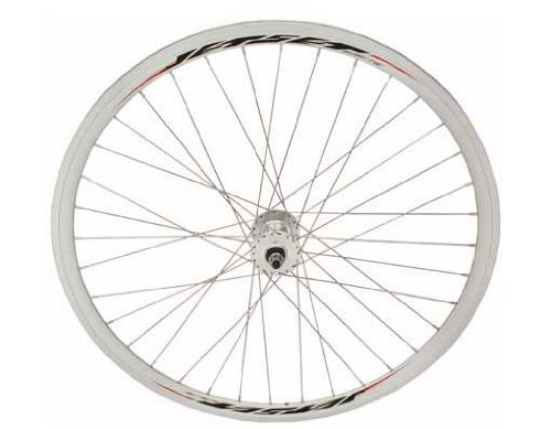 700c V 32mm Alloy Front Wheel 14G Sliver. Bicycle wheel, bike wheel, 700c bike wheel, 700c bicycle wheel, fixed gear bike, track bike, bike part, bicycle part by Lowrider