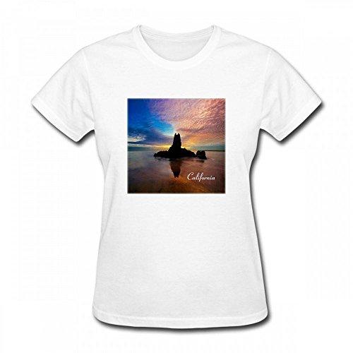 - America The Beautiful Image Of Beautiful Sunset At Newport Beach California Women T-Shirt