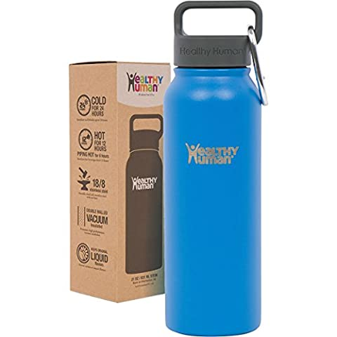 Healthy Human 21 oz Water Bottle - Cold 24 Hrs,