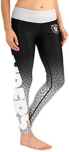 FOCO Oakland Raiders Gradient Print Legging - Womens Small