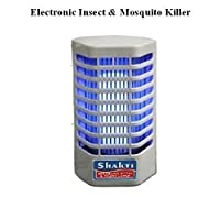 Inditradition Electronic Mosquito and Insect Killer Cum Night Lamp (White, Plastic)
