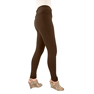 fdce17f4296 Hold Your Haunches As Seen On Shark Tank Chocolate Brown Sleek Cheeks  Legging