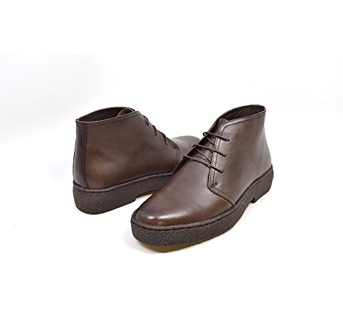British Collection Original Playboy High Top Leather Shoes Brown F0AtdqFPcJ