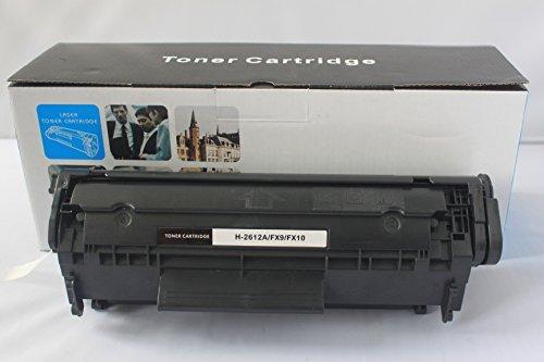 (Replacement for HP Q2612A / 12A Black Laser Toner Cartridge for HP LaserJet Printer Series (1 Black))