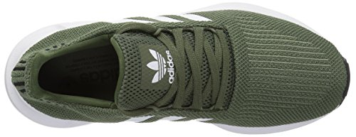 Donna Originals black white Base Swift Run Adidas Green 4tx1qqf