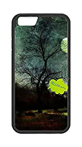 Plastic Fashion Phone Case Back Cover Iphone6 Plus 5.5,phone case for moon sun stars clouds art.