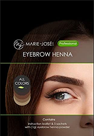 Start Set Henna Hair Dye For Eyebrows Brow Henna Henna For