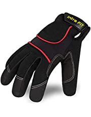Intra-FIT Construction Gloves Work Gloves, CADET Available, Perfect for Mechanical Work, Automobile, Tool Handling, Construction, Farm , Outdoor Sports, Excellent Abrasion Resistance and Grip