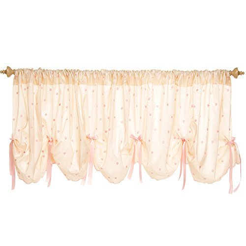 Charlotte 92 Inch Wide Scalloped Window Valance by Glenna Jean by Glenna Jean