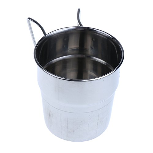 MagiDeal 4pcs Pack Stainless Steel Water Cups Outdoor Camping Coffee Mug with Folding Handle for Outdoors by Unknown (Image #7)