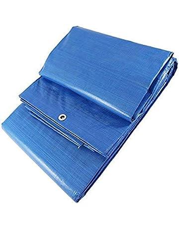 SEIMARK Toldo Protector Rafia Reforzado Azul 90 gr/MT con Ojales (2 x 3