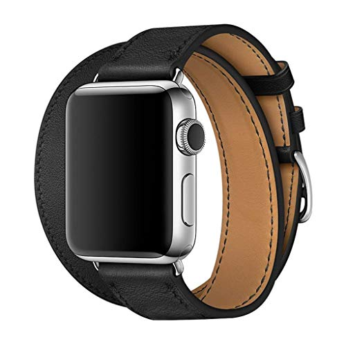 - Double Wrap Leather Band - Fits for 5.5