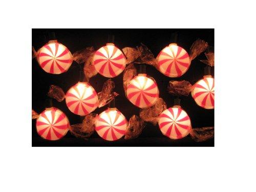 Peppermint Christmas Lights Outdoor