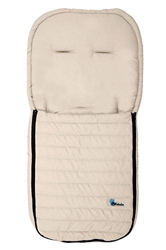 AltaBeBe AL2200M - 03 - Saco de abrigo de microfibra para coche, color beige