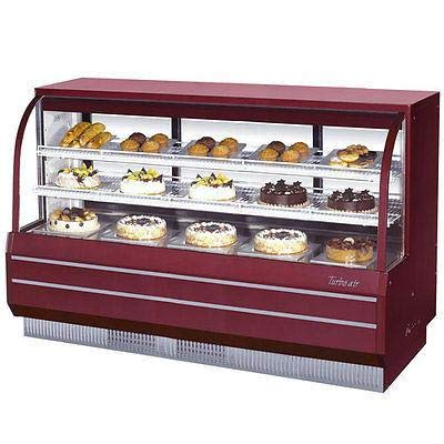 (Turbo Air TCGB-72DR-R-N Curved Glass Bakery Case)