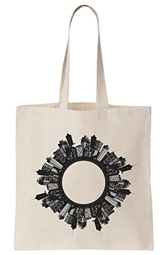 Bag Buildings City Circle Tote in Canvas F6qq7Xd