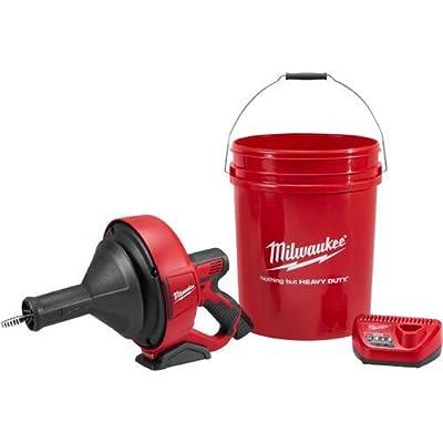 "Milwaukee Electric Tool 2571-21 M12 Drain Snake Kit, 1"" x 20.5"" x 1.75"""