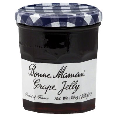 Level Glass Standard (Bonne Maman Grape Jelly, 13-Ounce Glass (Pack of 6))