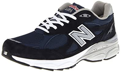 New Balance Men's M990NV3 Running Shoe,Navy,7 D US