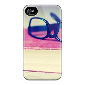 ANn23483EUBG Anti-scratch Cases Covers MichelleCumbers Protective Black Glasses Book Cases For Iphone 6