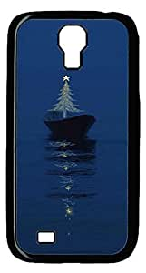Brian114 Samsung Galaxy S4 Case, S4 Case - Cool Black Back Hard Case for Samsung Galaxy S4 I9500 Tree Among The Sea Design Hard Snap-On Cover for Samsung Galaxy S4 I9500