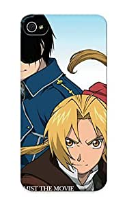 Hot Snap-on Anime FullMetal Alchemist Hard Cover Case/ Protective Case For Iphone 5/5s