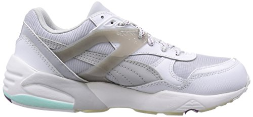 Puma Basic Basses white Baskets Femme R698 Gray Blanc Sp glacier Te Gray steel f5SgfWrq
