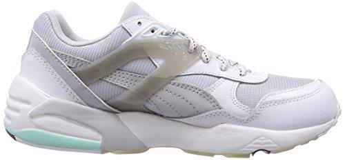 Femme Baskets steel Gray glacier Te Sp white Blanc Gray Basses R698 Basic Puma qxnwB11