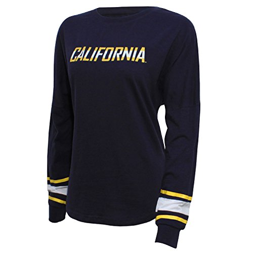 NCAA California Golden Bears Women's Campus Specialties Long Sleeve Fan Tee, Medium, ()