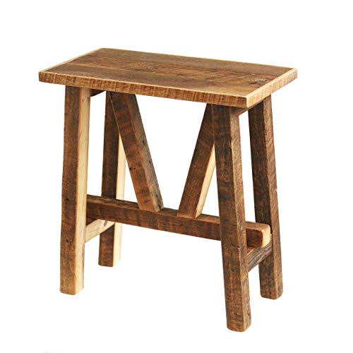 Reclaimed Wood End Table - Bedside Table- Side Table - Accent Table