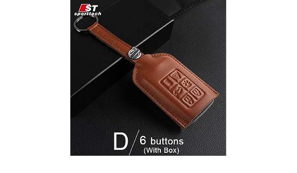 Amazon.com: Car Styling Keychain Key Ring Llaveros Genuine ...