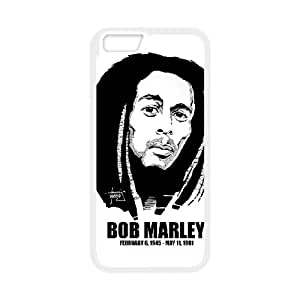 iPhone 6 4.7 Inch Cell Phone Case White Bob Marley M5T7WT