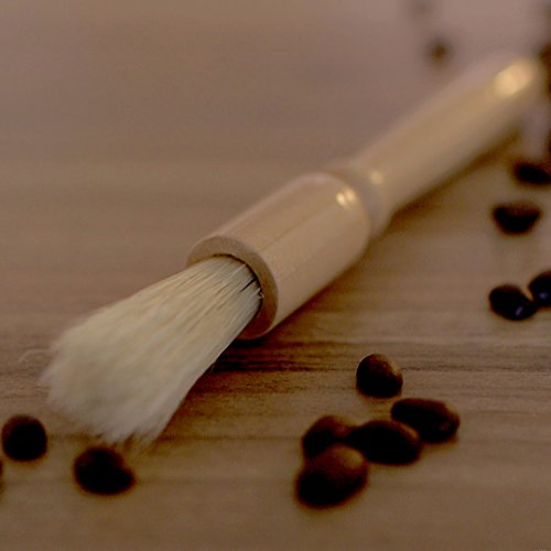 BEST Coffee Grinder Brush and Scoop by Coffee Gator. Premium Quality by Coffee Gator (Image #1)