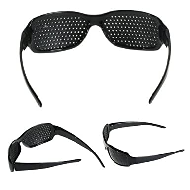 df8fb5ebf6a6 Itian Unisex Eyesight Vision Care Vision Improve Pinhole Glasses Eyes  Exercise Fashion Natural  Amazon.co.uk  Electronics