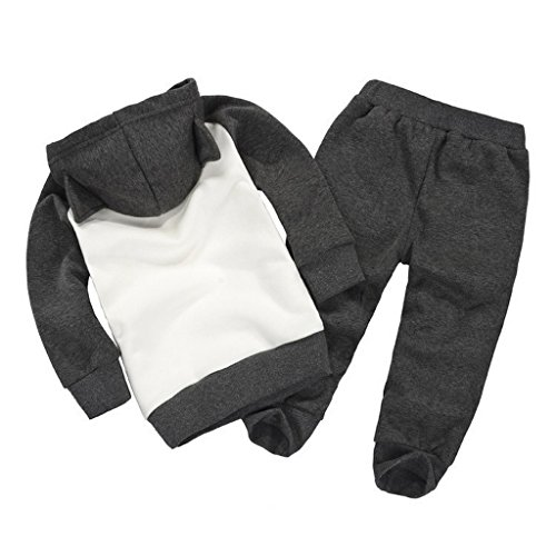Getuback Baby Batman Clothing Sets Children Spring Tracksuits 3T Gray
