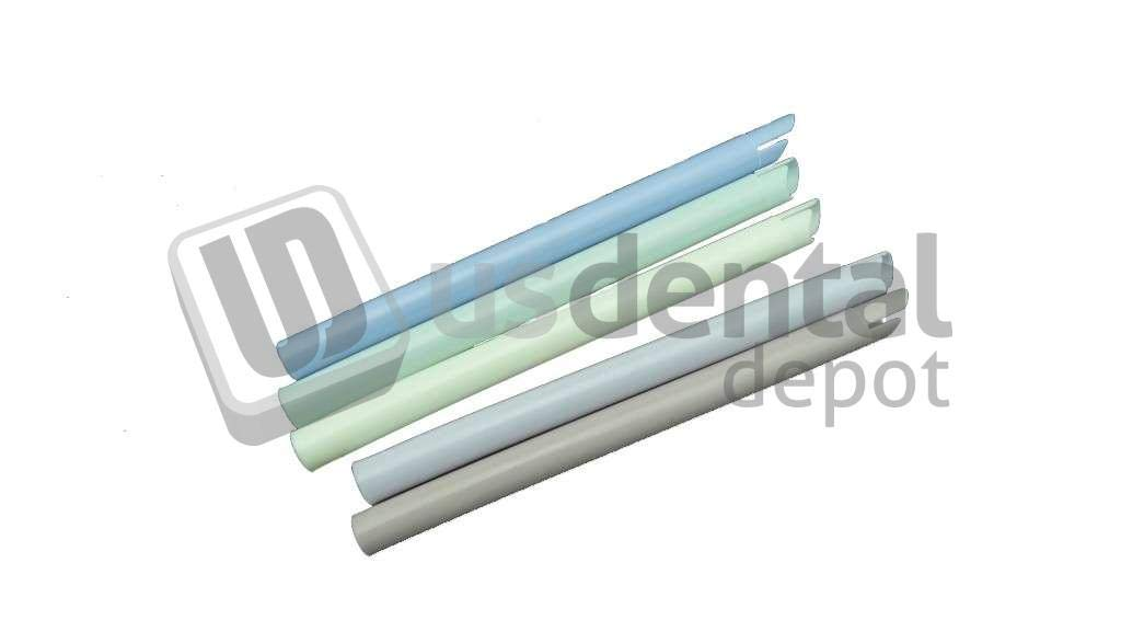 PLASDENT - Pastel Oral Evacuator/Vented Tip - # 8018P - Assorted 6 Pastel Colors - (100 Pcs/Bag) 001-8018P Denmed Wholesale