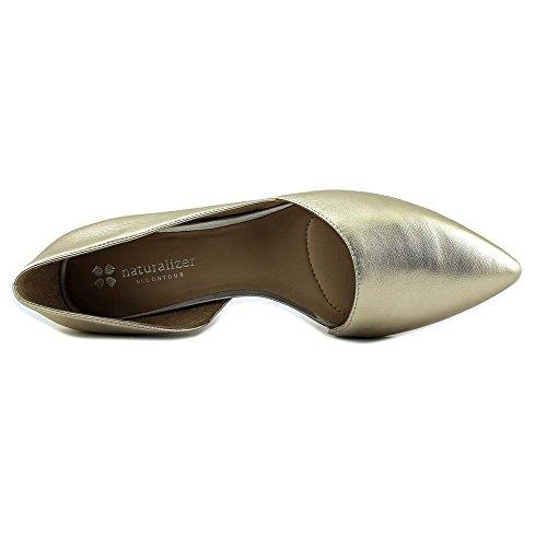 Leather Naturalizer Pointed Platina Flat Samantha Toe Women's HxHErXnYwq