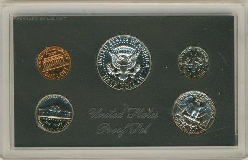 Juego de prueba de los Estados Unidos de 1971 en embalaje original del gobierno