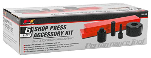 065 6 Piece Shop Press Accessory Kit, Used With Presses Up To 50-ton (Shop Press)