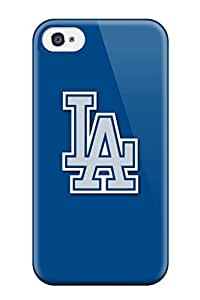 Cute Appearance Cover/tpu EaRWjcT65UgmCO Los Angeles Dodgers Case For Iphone 4/4s by kobestar