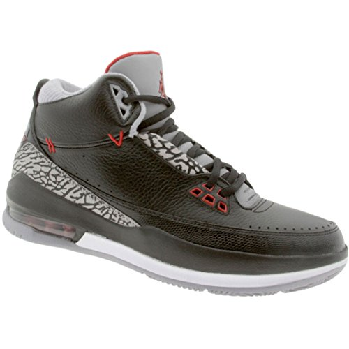 85e1cee1f3a7 Nike Air Jordan 2.5 Team Black Varsity Red-Cement Grey-White Mens Shoes  331987-061-9.5 - Buy Online in UAE.
