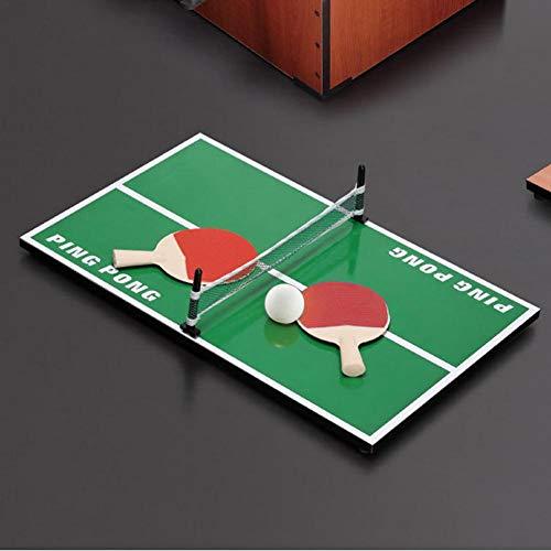Exuberanter Mini Mesa de Ping Pong de Madera para Tenis de Mesa ...