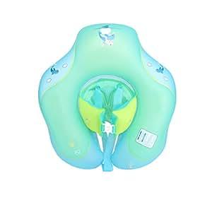Anillo De Natación Inflable En Forma De U Anillo De La Axila Fila Flotante De Aro Salvavidas Ayuda De Seguridad Diversión Acuática Piscina Equipo De Natación Para Bebés De Más De 3 Meses De Edad,XL