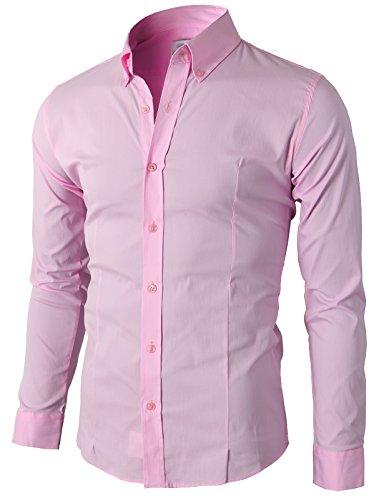 4xl pink dress shirt - 3