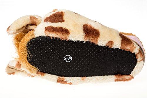 36 37 Toy Gibra® Pantofole Giraffa Dimensioni nbsp; Doppia wYOqcXF4