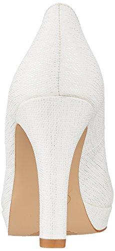 Scarpe Oliver Tacco 22410 s White Bianco con Donna Struct f7wBdq