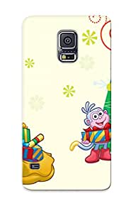 Ideal Cardiganu Case Cover For Galaxy S5(dora The Explorer Christma Christma Cartoons), Protective Stylish Case