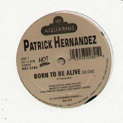 Born To Be Alive/Disco Queen)12 inch Single Record/Vinyl)